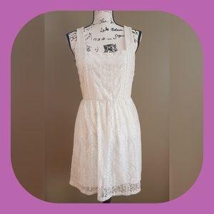 Zoah Design White Lace Dress size S / M
